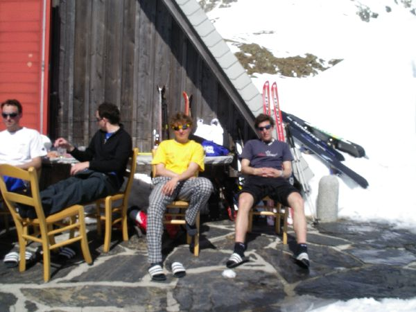 Chill out bei der Scalettah�tte